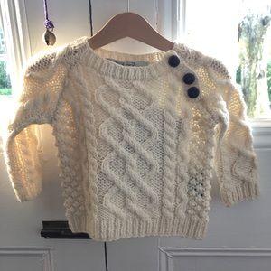Baby Irish Knit Sweater BRAND NEW